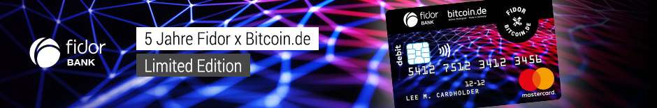 Visual bitcoin card top